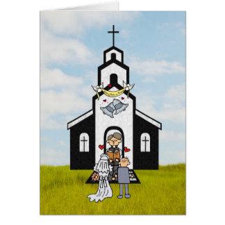 Thank you Clergyman Card