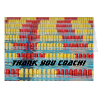 Thank You Coach! Card
