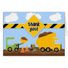 Thank You Construction Greeting Card
