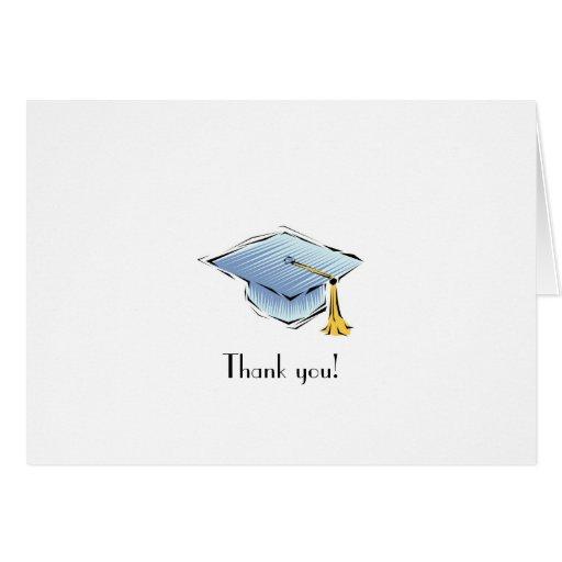 Thank you! Custom Graduation Stationery/Card