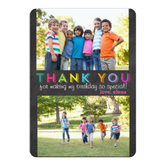 Thank you custom multiple photo card