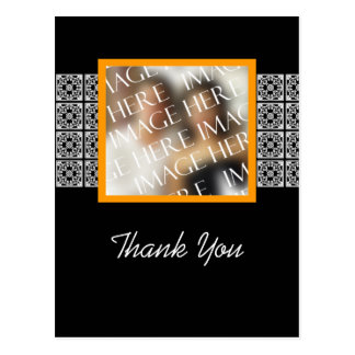 Thank You Custom Photo Template Wedding Postcards