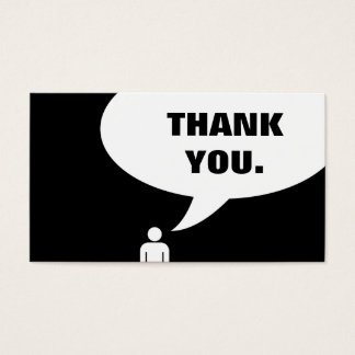 thank you. (customer loyalty)