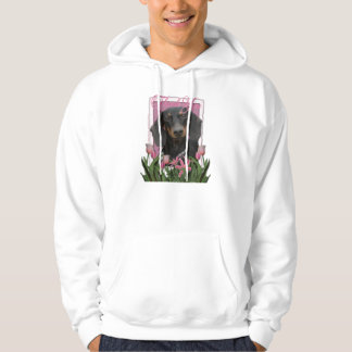Thank You - Dachshund - Winston Hooded Pullovers