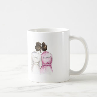THANK YOU Dark Br Bun Bride Dark Br Bun Bm Coffee Mug