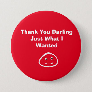 Thank You Darling 7.5 Cm Round Badge
