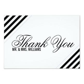 Thank You | Diagonally 9 Cm X 13 Cm Invitation Card