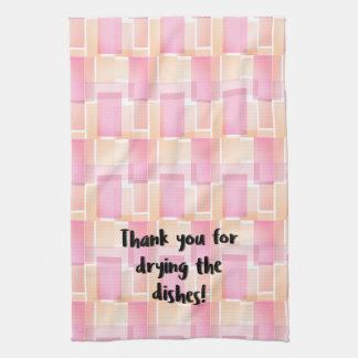 Thank You Dish Tea Towel
