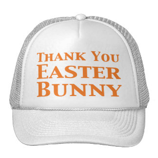 Thank You Easter Bunny Gifts Cap