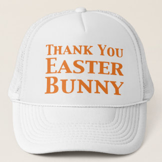 Thank You Easter Bunny Gifts Trucker Hat