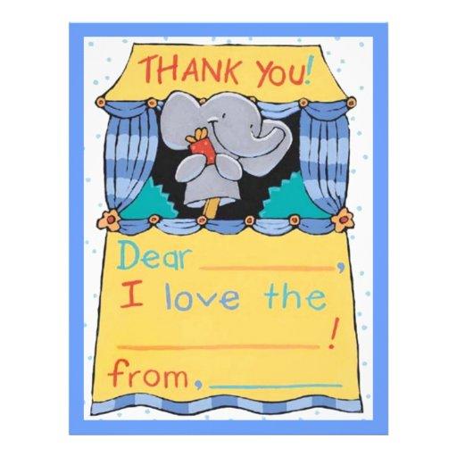 Thank You Elephant Flyer