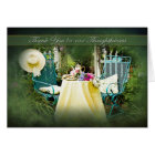 THANK YOU -  ENGLISH COTTAGE GARDEN CARD