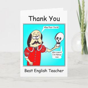 Thank you - English Teacher