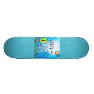 Thank You Flower Skateboard