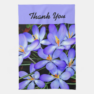 Thank You Flowers Kitchen Towel