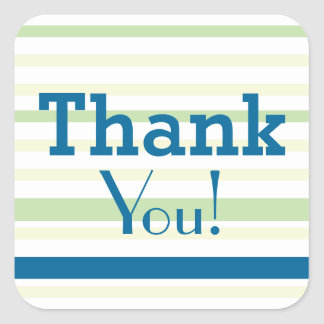 Thank You! for all Occasions Square Sticker