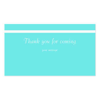 Thank you for coming