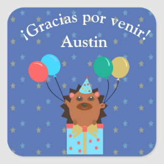 """Thank You for Coming/Gracias por Venir"" Sticker"