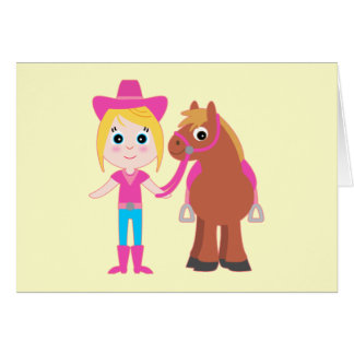 Thank You for Coming to my Birthday Party Pony Card
