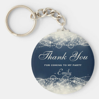 Thank You for Coming to my Party Basic Round Button Key Ring