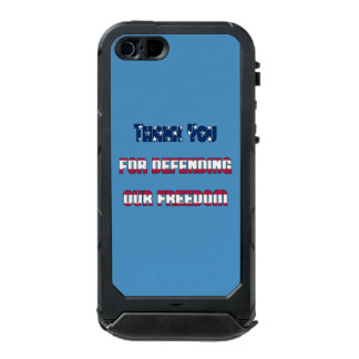 Thank You For Defending Our Freedom Incipio ATLAS ID™ iPhone 5 Case