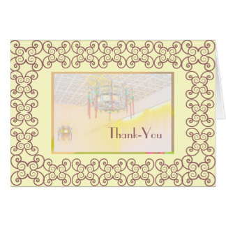 Thank-you for dinner Card