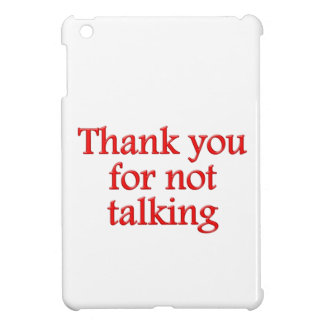 Thank you for emergency talking case for the iPad mini