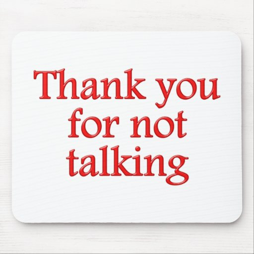 Thank you for emergency talking mousepads