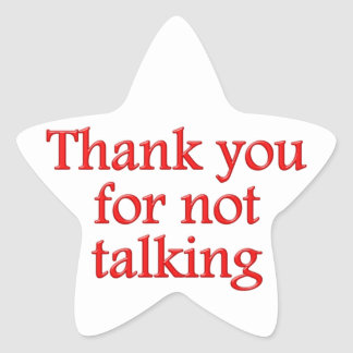 Thank you for emergency talking stickers
