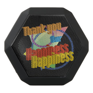 Thank you for Happiness Black Boombot Rex Bluetooth Speaker