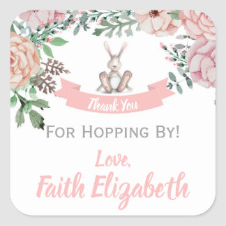 Thank You For Hopping By Sticker