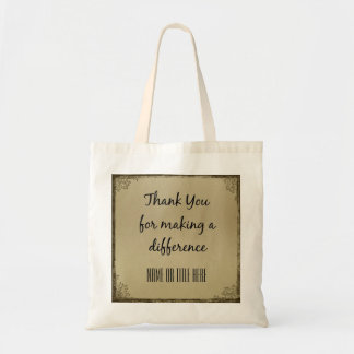 Thank you for Making a Difference Tote Bag