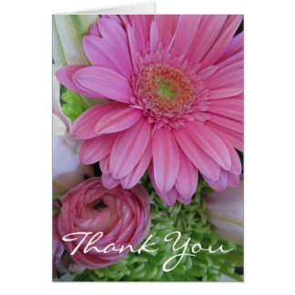 Thank You for medical care-Floral Personalize Cards