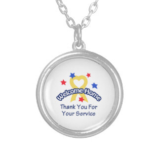 THANK YOU FOR SERVICE PENDANT