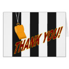 Thank You for Sports Official Card