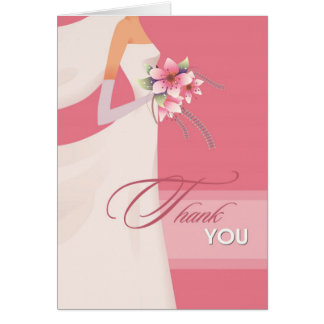 Thank You for the Bridal Shower Gift Note Cards