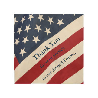 Thank you for your Service Armed Forces Wall Art