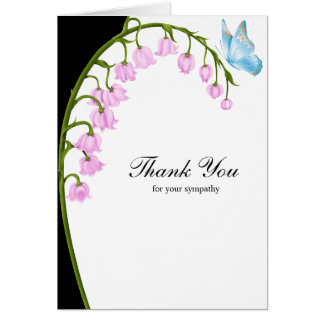 Thank you for your sympathy greeting card