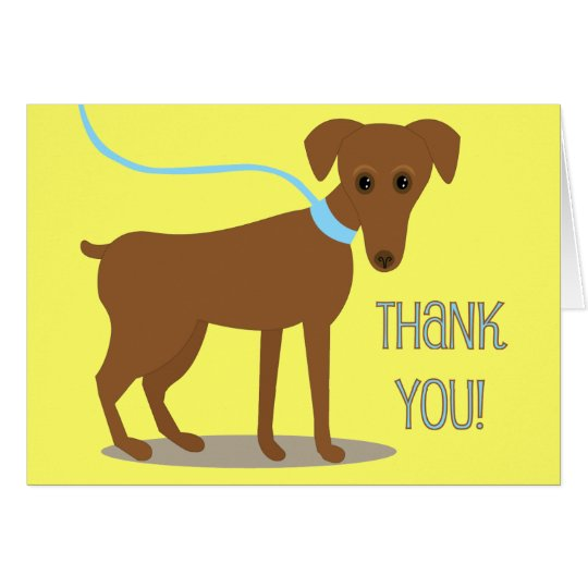 Thank you! From Dog Card
