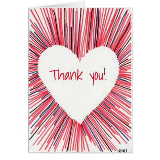 Thank You From My Heart Card