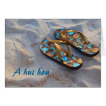 Thank You from the Family of Beach Shoes Note Card