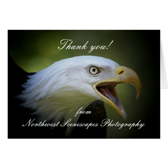 Thank you!,  fromNorthwest Scenescape... Card