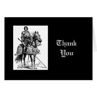 Thank You, Fun Knight in Shining Armor Card