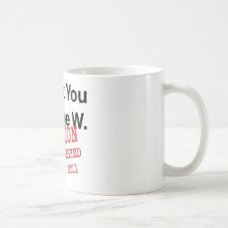 Thank You George W Basic White Mug