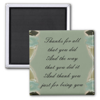 Thank You Gift - Magnet