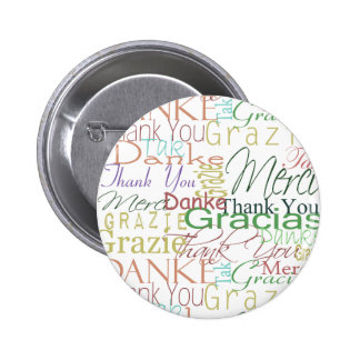 Thank You Gifts 6 Cm Round Badge