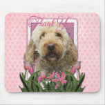 Thank You - Goldendoodle Mousepad
