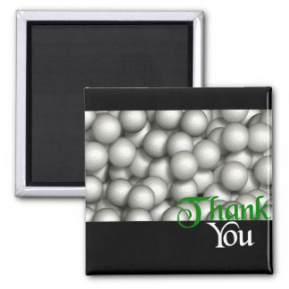Thank You Golf Balls Magnet