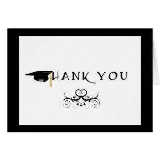 Thank You Graduation Greeting Cards