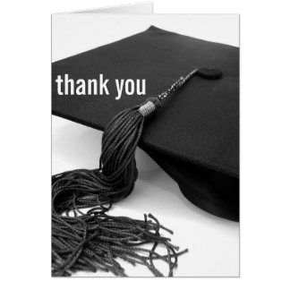 Thank You : Graduation Greeting Card